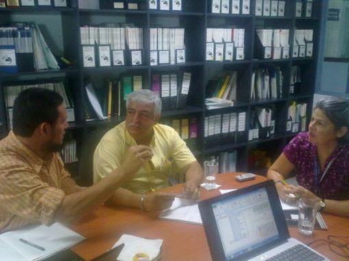 Grupo de personal participante en la reunión INBio-ACCVC-ACTo. Mayo, 2012.